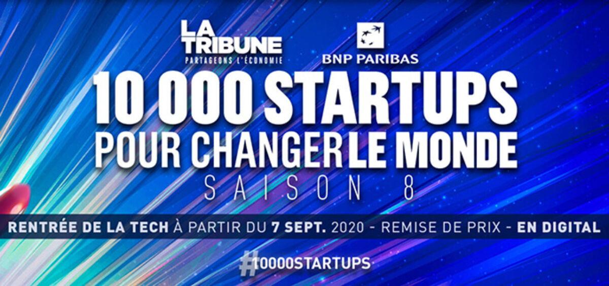 Les startups qui ont gagné l'édition 2020 du concours 10 000 startups pour changer le monde